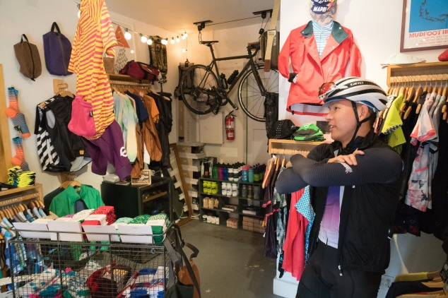 The Cub House stocked full for holiday shopping. Along with house brands Team Dream Bicycling Team and Ride with Ringtail, they carry Velocio, Machines for Freedom, 7mesh, Ornot, The Athletic socks, MAAP and more.